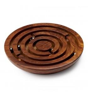 Labyrinthe en bois de sheesham
