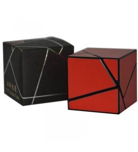 Fangshi Ghost cube 2x2 rouge