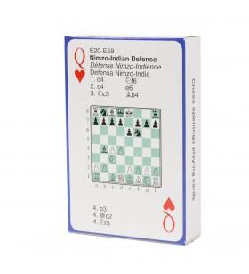 Jeu de 52  Cartes avec ouvertures aux échecs