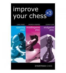 Ward, Kinsmann, Flear -Improve your Chess x3
