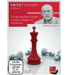 Martin - The Blumenfeld gambit a sharp weapon in the Benoni DVD
