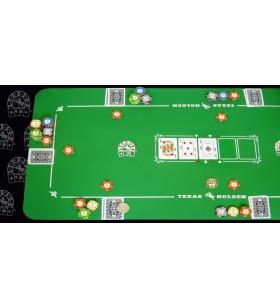 Tapis de Poker  Texas Hold'em Qualité ++