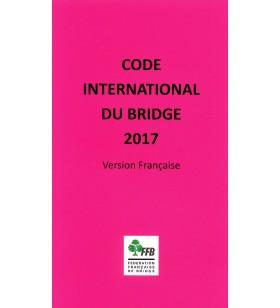 Code International du Bridge 2017