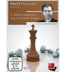 Kasimdzhanov - Lifetime repertoire: play the Nimzo Indian DVD