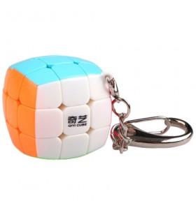 Cube mini 3x3x3 porte-clé  Stickerless