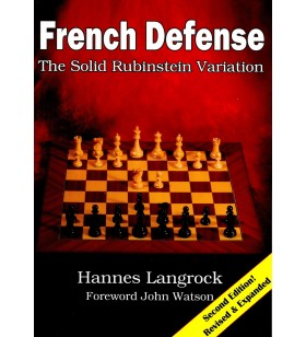 Langrock - French Defence, the Solid Rubinstein Variation Second edition