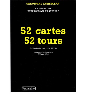 Annemann - 52 Cartes 52 Tours
