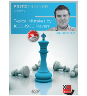 Pert -Typical Mistakes by 1000-1600 Players DVD