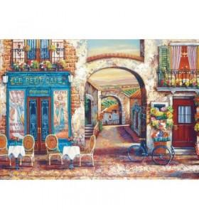 Puzzle 4000 pièces: Le petit Café