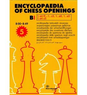 Encyclopaedia of Chess Openings vol. B 1