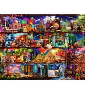 Puzzle 2000 pièces- Le monde des livres