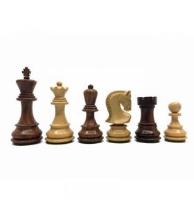 Pièces d'échecs Palissandre 95 mm + Coffret