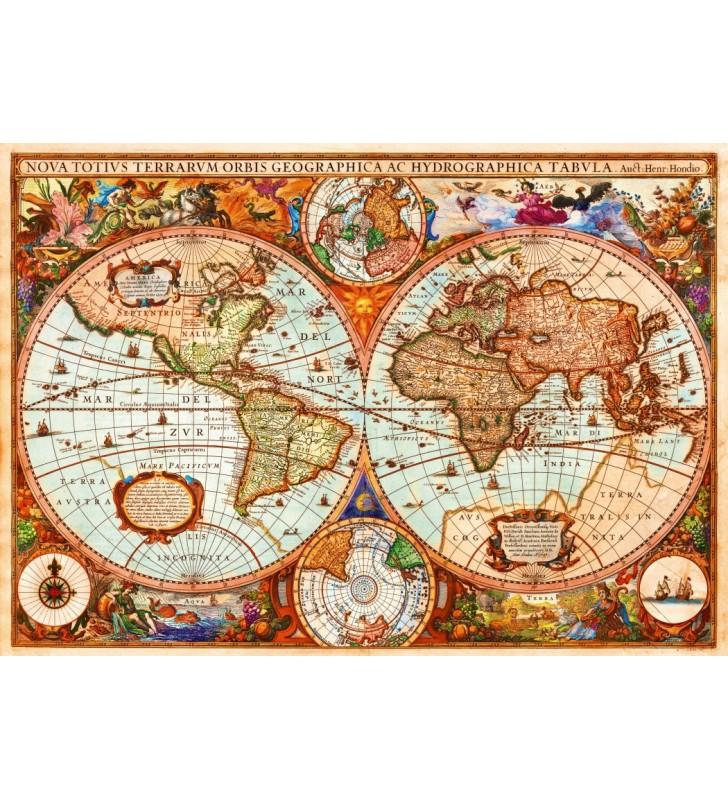 Puzzle 1000 pièces- Mappe Vintage