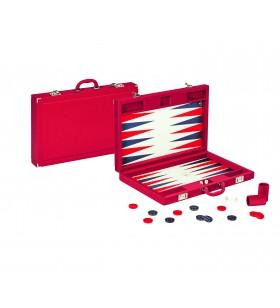 Backgammon Twill Cuir