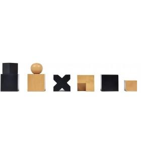 Pièces d'échecs Bauhaus Design