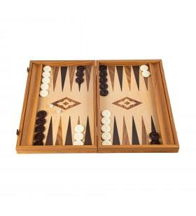Backgammon 38 cm en noyer