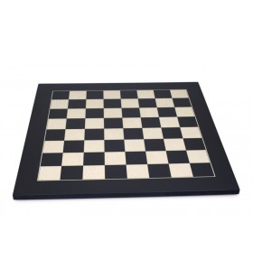 Black maple chessboard...