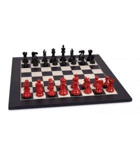 Stallion chess set laquered...