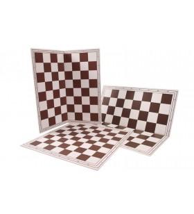 Folding vinyl chessboard...