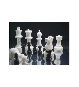 Giant outdoor chess pieces