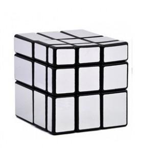 Silver Mirror Cube